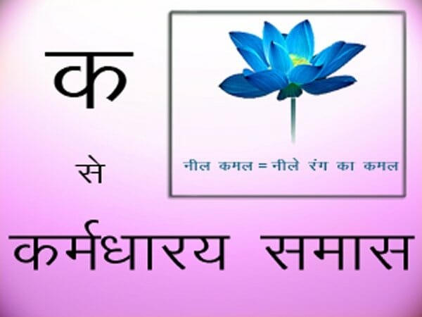 कर्मधारय समास - karmadharaya-samas - Online Hindi Classes For Beginners