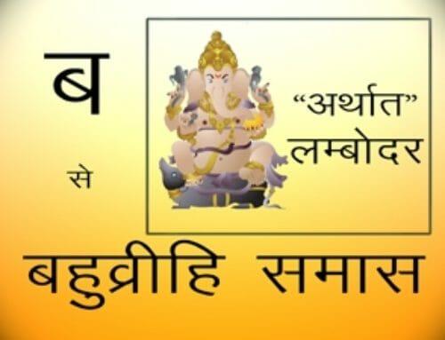 बहुव्रीही समास – Samas In Hindi
