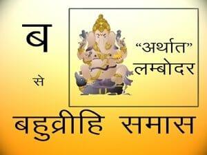 बहुव्रीही समास - Samas In Hindi